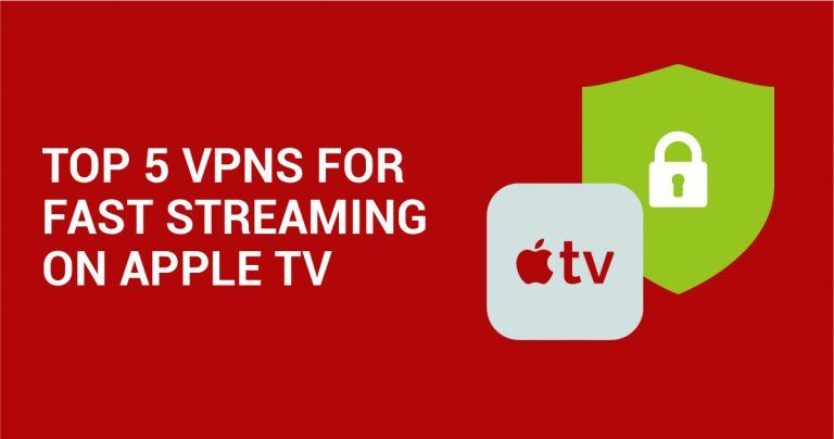 Beste VPNs für Apple TV + Installationsanleitung (Juni 2019)
