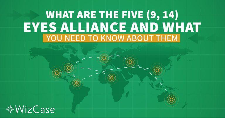 Verstehe die Five, Nine und 14 Eyes Alliance, bevor Du ein VPN wählst!
