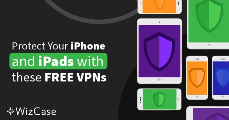 6 beste kostenlose VPNs für iPhone & iPad (getestet 2021)