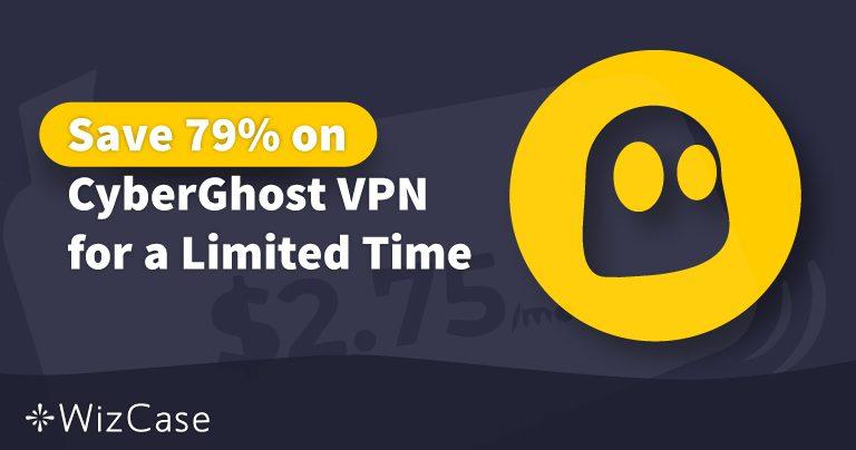 Gültiger CyberGhost VPN-Gutschein 2020: Heute bis zu 79% sparen